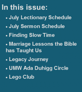 In This Issue - July 2014