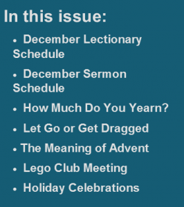 In This Issue - December 2014
