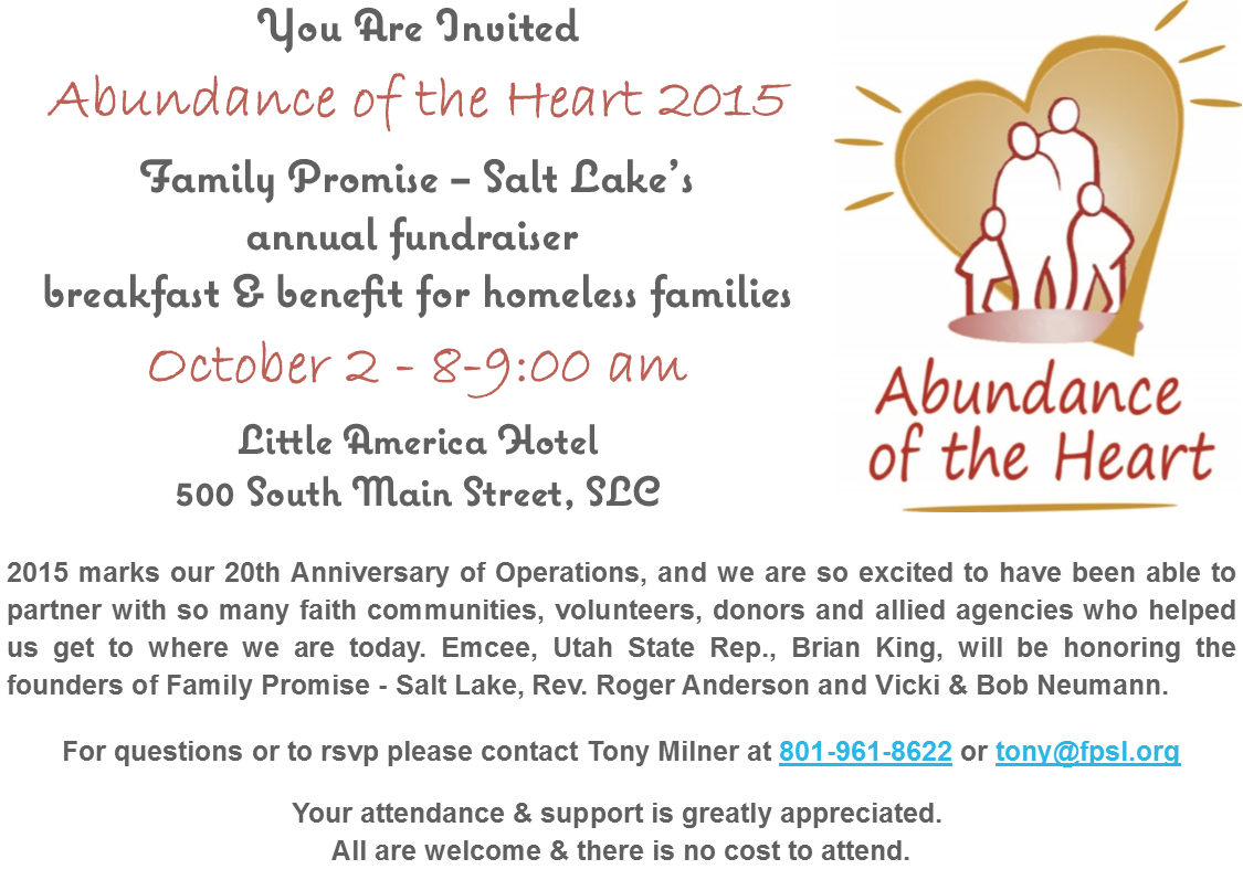 Abundance of the Heart 2015