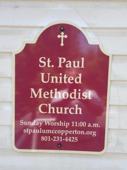 New Church Sign